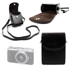 Durable & Ultra-Portable Compact Case in Classic Black for Fujifilm X70 Camera