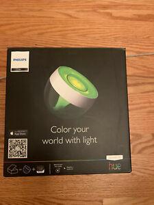 Philips Friends of Hue Iris Table Lamp, White 71999/60/48