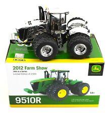 ERTL 1:32 JOHN DEERE *CHROME CHASE* 9510R 4WD Tractor *2012 FARM SHOW ED* NIB