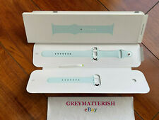 NEW 100% Genuine *SEAFOAM* Apple Watch 42mm/44mm Sport Band MXP82AM/A MXP82ZM/A