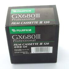 Fuji GX680 Roll Film Insert III 120, case, brand new in box (19489)