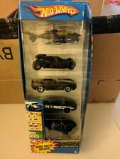 Hot Wheels Batman Begins Gotham City 5 pack rare with Poster Included