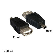 Kentek USB 2.0 A Female to Mini B 4 Pin Male Connector Digital Camera PDA PC