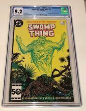 Saga of the SWAMP THING #37 ~ 1st app John Constantine/Hellblazer 1985 ~ CGC 9.2