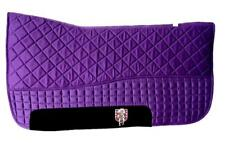 Purple Western Saddle Pad | PRI Double-Back Saddle Blankets