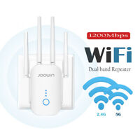 AC1200 WiFi Range Extender 1200 MBPS Wireless Amplifier Router Signal Booster