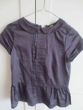 Vêtements gris avec col pour fille de 2 à 16 ans