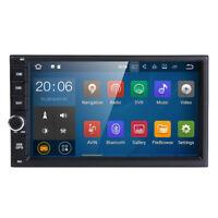 Double Din Android 7.1.2 Car GPS SAT NAV Stereo Radio WiFi 3G DVR OBD SD BT DAB+
