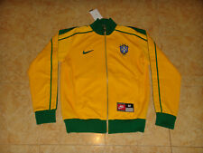 Brazil National Team Soccer Jacket Nike Zip Track Top Brasil Football Coat NEW