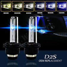 2 x D2S 35W Xenon Headlight Bulbs HID  85122 66040 Replacement AUDI BMW MERCEDES