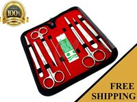 8 PCS STAINLESS STEEL MINOR MICRO SURGERY KIT SURGICAL INSTRUMENTS FORCEPS
