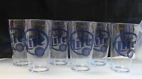 NOS Heavy Duty Set of 6 Miller Lite Pint Beer Glasses Plastic Cups Man Cave