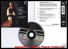 """POULENC """"Motets - Messe"""" (CD) Marcus Creed 1996"""