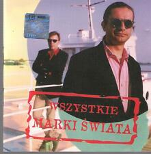 WSZYSTKIE MARKI SWIATA 1996 INTERSONUS TOP RARE POLISH CD POLSKA POLAND POLEN