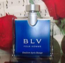 BLV Pour Homme After Shave Balm 3.4 Fl. Oz. Unbox.