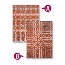 Spellbinders m-bossabilities Acolchado Delight es-014 Reversible Embossing Carpeta