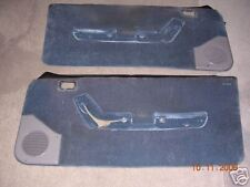 87-93 MUATANG GT, LX, COBRA CUSTOM DOOR PANELS  POLICE
