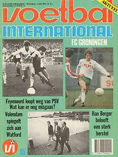 V.I. 1984 nr. 15 - FRANK RIJKAARD (POSTER)/JOHN DE WOLF/BOB LATCHFORD/FRED ANDRE