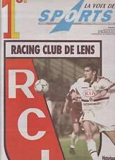 journal LA VOIX DES SPORTS du 30/03/98 FOOTBALL LENS TOUJOURS LEADER