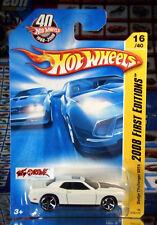 Hot Wheels 2008 #016 Dodge Challenger SRT8 WHITE,OH5SP,BASE NO NUMBER