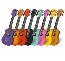 Classic Cantabile US-100 Ukulele Holz Hawaii Gitarre Uke Sopran Mensur Nylon