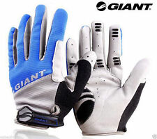 GIANT Cycling Bicycle Bike Full Finger Antiskid Silicone Gel Gloves 4 Colours