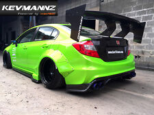 KevMannz Carbon Fiber Rear GT Wing Spoiler 1900 mm