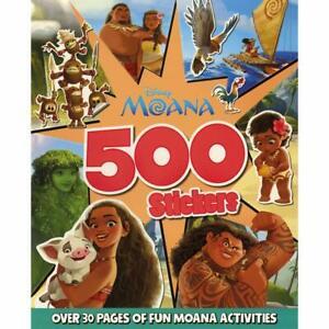 Disney Moana 500 Stickers Activity Book