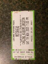 Motörhead - Brixton Academy Concert Ticket Stub - 19th November 2005