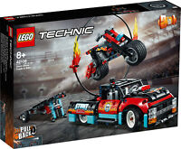 42106 LEGO Technic Stunt Show Truck & Bike 610 Pieces Age 8 Years+