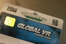 New Global Vr Player'S Card For Madden, Golf Or Driving Arcade Games