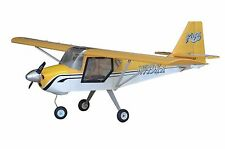"KITFOX 62"" WINGSPAN Yellow BALSA (ARF) 700-1000 WATTS"