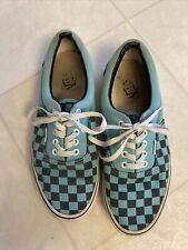 VANS Checkered Canvas Sneakers Shoes Sz Men's 10 Women's 11.5