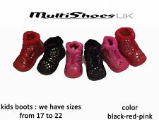 Fashion Baby Kids Boy Girl Winter Boots Toddler Soft Crib Shoes Sneakers Baby