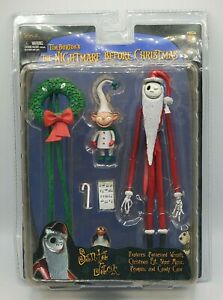 NECA ~ Nightmare Before Christmas ~ Series 3 ~ Santa Jack Skellington