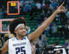 BARRET BENSON signed (NORTHWESTERN WILDCATS) BASKETBALL 8X10 photo W/COA #25 C
