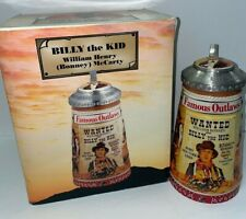 Billy the Kid Stein in Budweiser Outlaw Series CS597