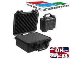 WATER RESISTANT STORAGE BOX CASE BLACK CAMERA DRONE HOBBY DUST STORM QUADCOPTER