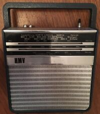 Very Rare Vintage HMV Model 2169 Small Portable 9V Battery Radio, Super Retro!