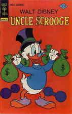 Uncle Scrooge #137 Vg, Walt Disney, stains on front cover, Gold Key Comics 1977