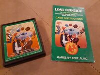 LOST LUGGAGE by APOLLO for ATARI 2600 ▪︎ CARTRIDGE and MANUAL ▪︎