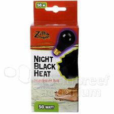 New listing Zilla Night Red Black 25 50 75 100 150 W/Watt Heat Light Reptile Terrarium Bulb
