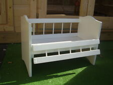 New Wooden Dolls Cot