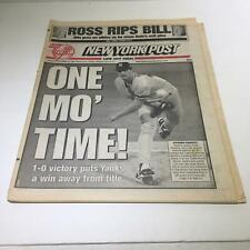 New York Post: Oct 25 1996 One Mo' Time