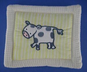 KidsLine Kids Line Barn Yard Animals Nursery Fabric Wall Hanging Decor Cow