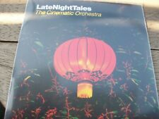 Cinematic Orchestra – Late Night Tales (2010 promo CD) rare numbered mix CD