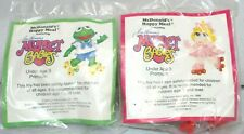 McDonalds Happy Meal Toys 1988 Muppet Babies Set of 2 Kermit Ms Piggy Ships Free