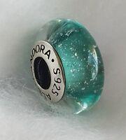 Pandora Disney charm Murano Glass Bead ARIEL 925 silver