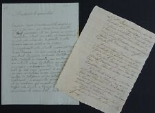 "[Maréchal BESSIERES] / lettre d'un ""artiste musicien"""