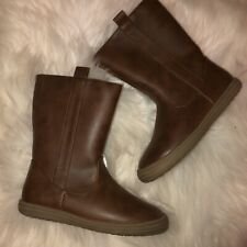 Nwt Cat & Jack toddler boots girls 8 11 tan brown walking casual cute stylish